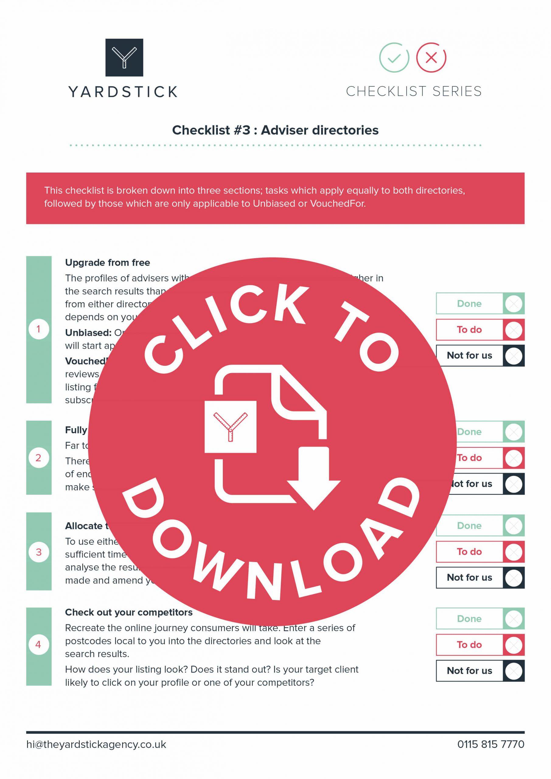 checklist 3 cover