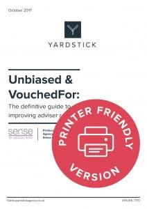 Unbiased VouchedFor guide printer friendly CTA