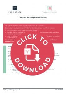 Google reviews: 5 reasons why they're important | The Yardstick Agency